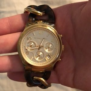 Michael Kors Gold Watch Authentic